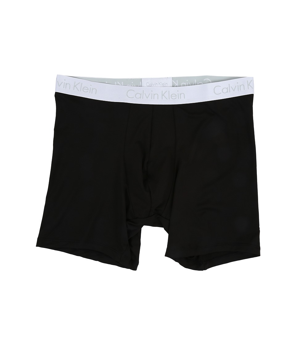 Calvin Klein Underwear - Liquid Stretch Micro Boxer Brief (Black) Men's Underwear