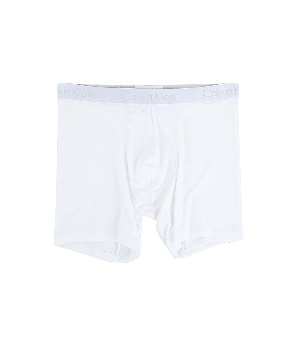 Calvin Klein Underwear - Liquid Stretch Micro Boxer Brief (White) Men's Underwear