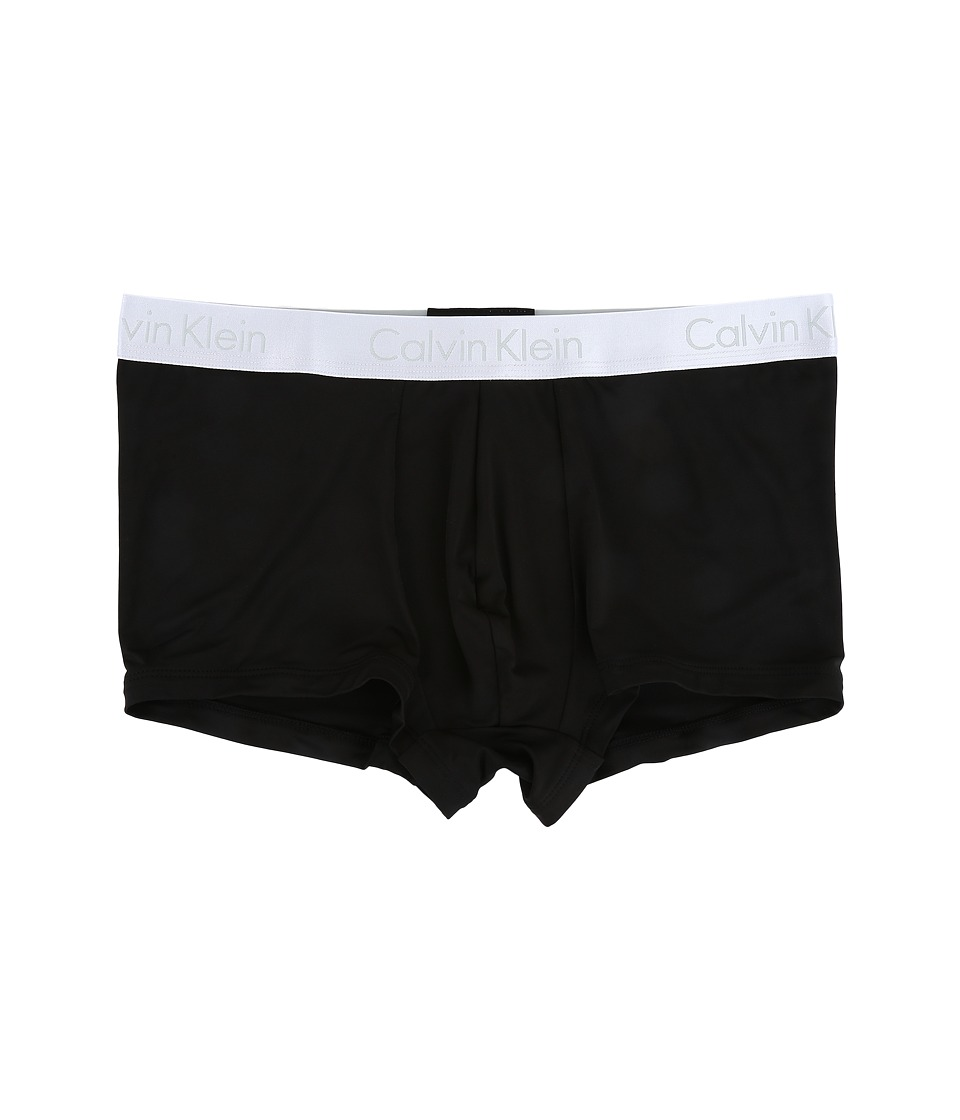 Calvin Klein Underwear - Liquid Stretch Micro Low Rise Trunk (Black) Men's Underwear