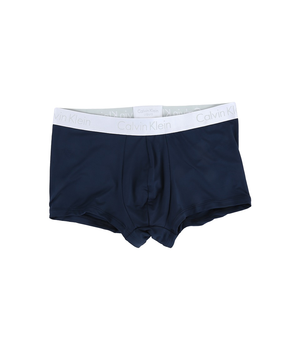 Calvin Klein Underwear - Liquid Stretch Micro Low Rise Trunk (Blue Shadow) Men's Underwear
