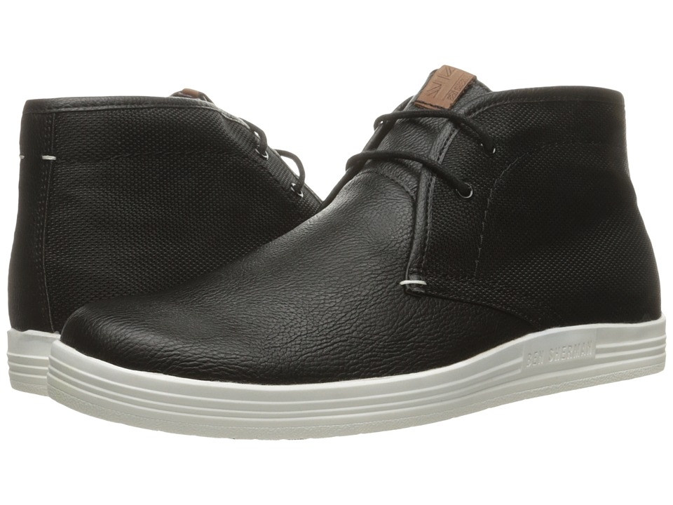 Ben Sherman - Vance (Black Combo) Men's Lace-up Boots