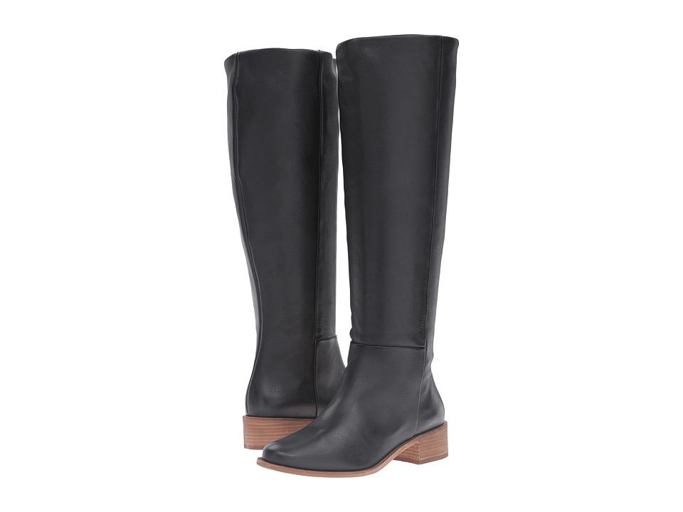Corso Como - Garrison Extended Calf (Black Soft Tumbled) Women's Boots