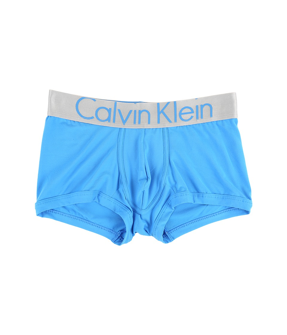 Calvin Klein Underwear - Steel Micro Low Rise Trunk U2716 (Maya Blue) Men's Underwear