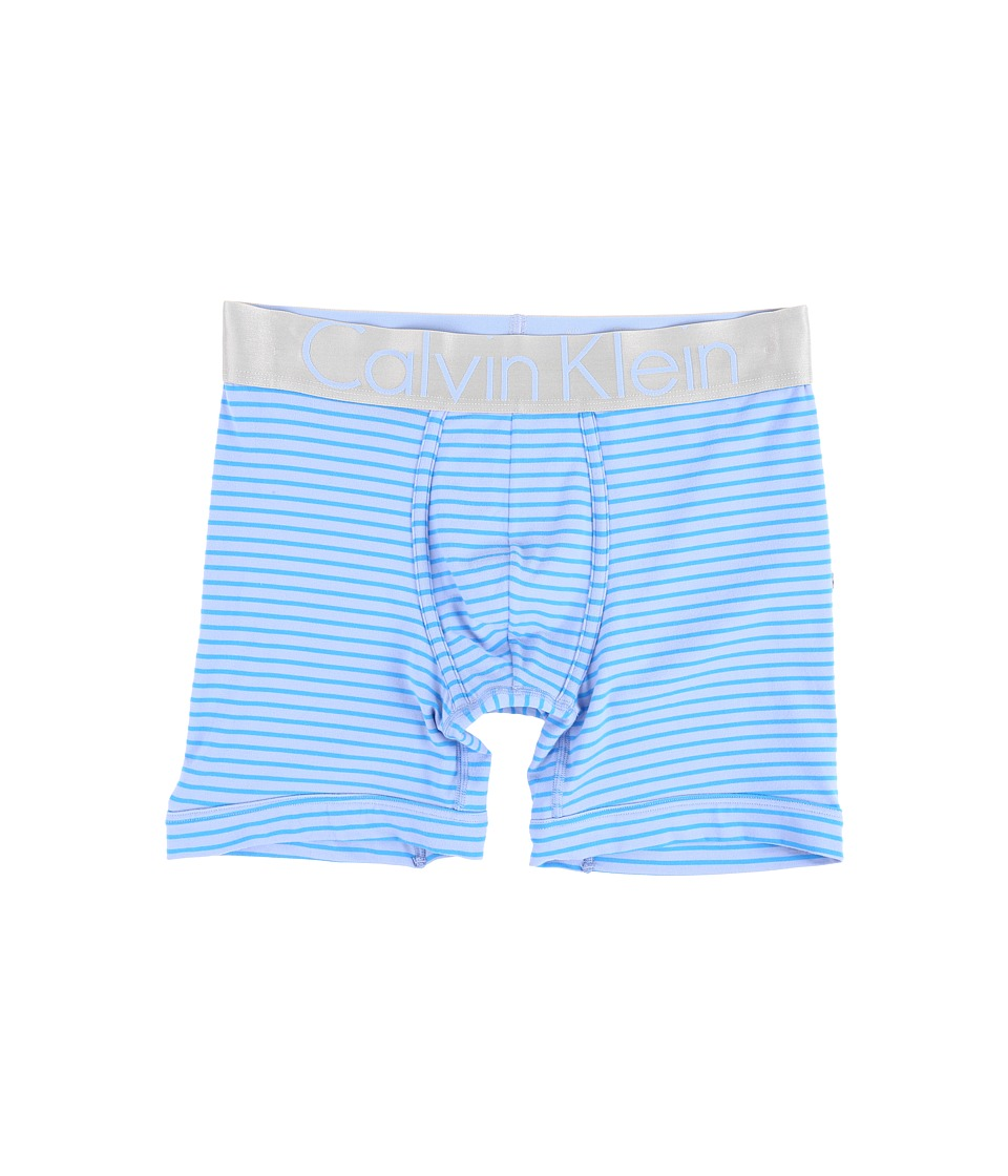 Calvin Klein Underwear - Steel Micro Boxer Brief U2719 (Star Ferry/Maya Blue Wide Stripe) Men's Underwear