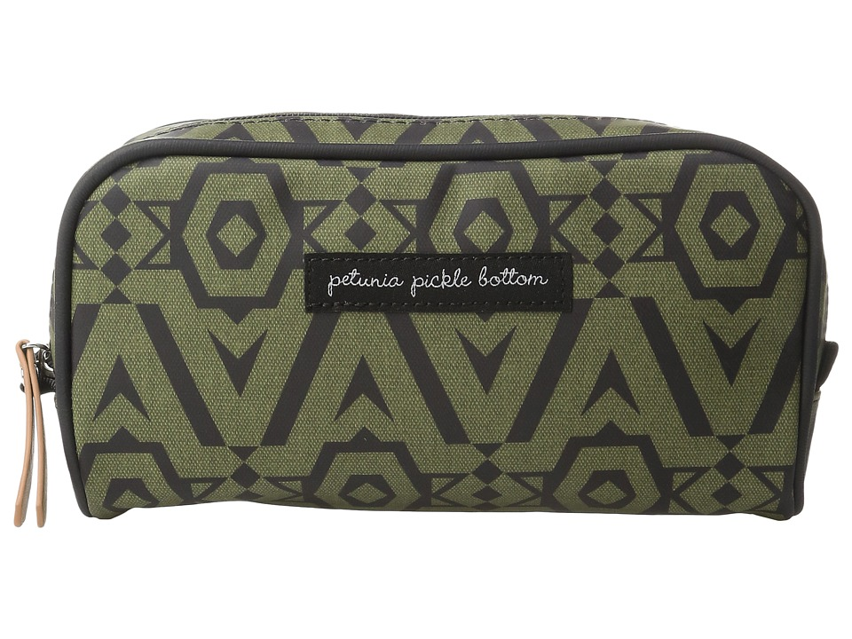 petunia pickle bottom - Glazed Powder Room Case (Brazilian Bossanova) Cosmetic Case