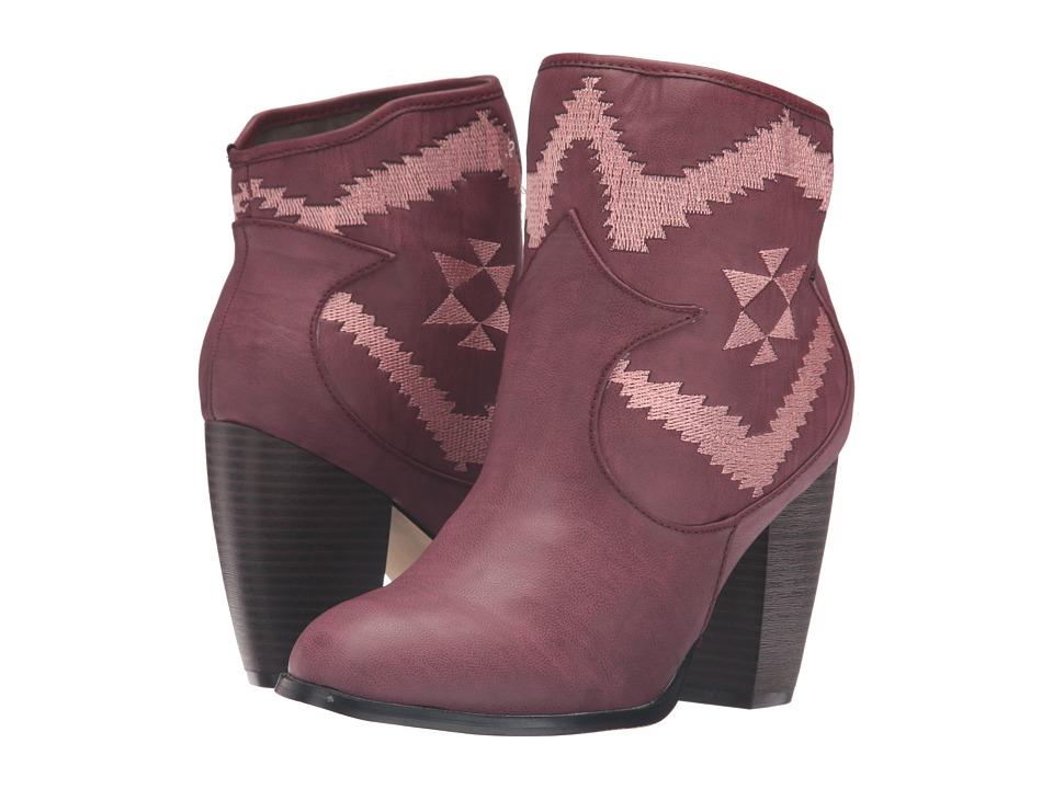 Michael Antonio - Master (Burgundy) Women's Boots