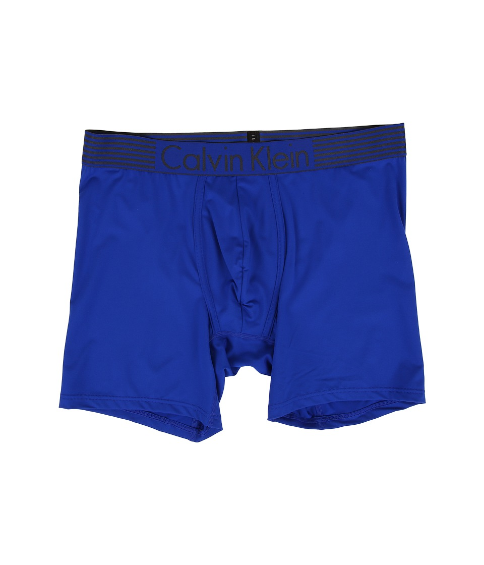 Calvin Klein Underwear - Iron Flex - Micro Boxer Brief (Amplified Blue) Men's Underwear