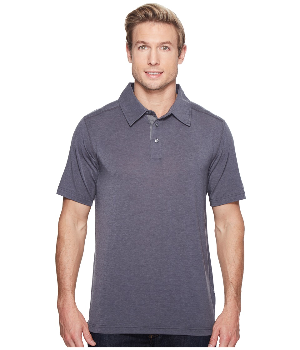 Marmot - Wallace Polo (Slate Grey Heather) Men's Short Sleeve Pullover