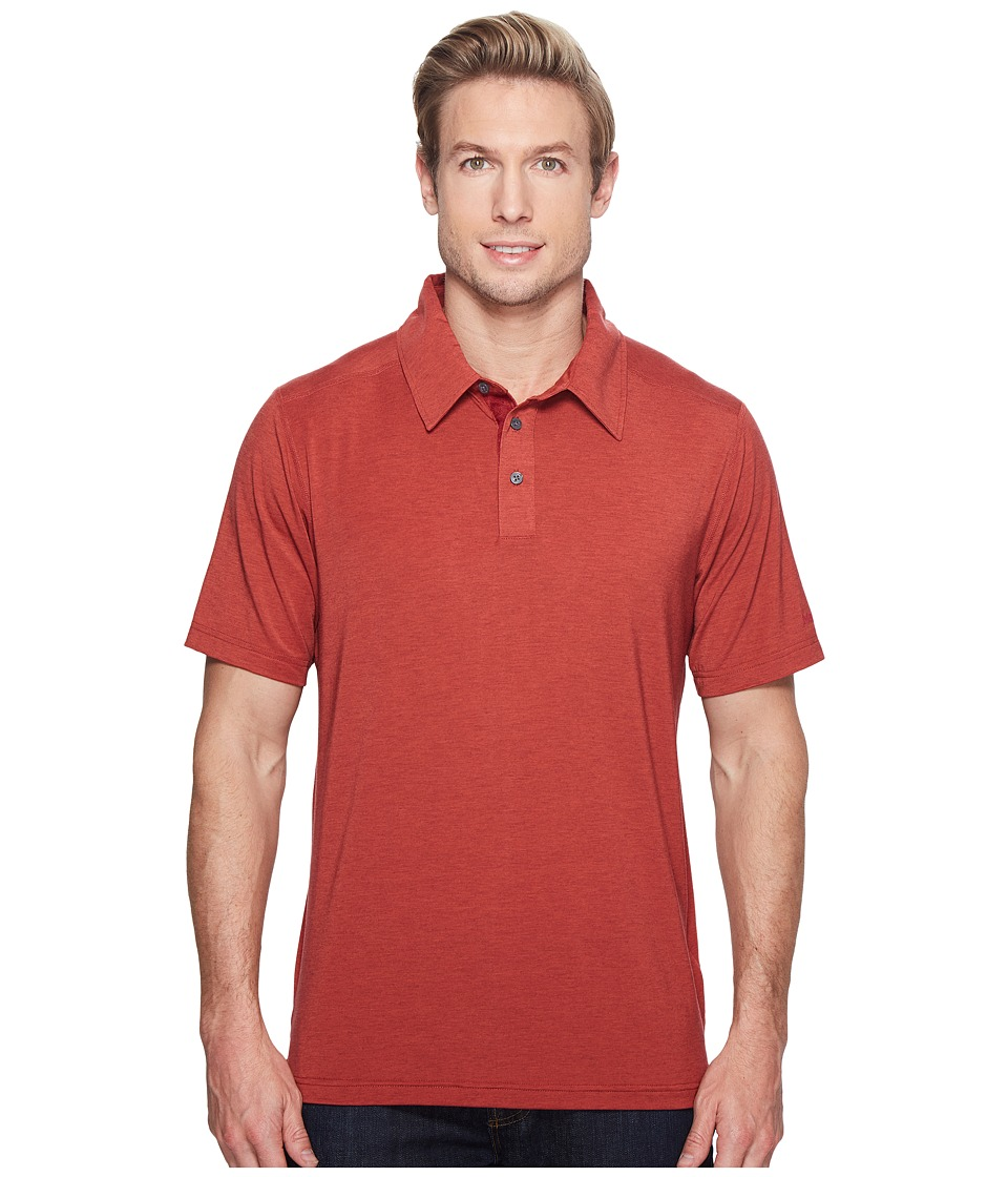 Marmot - Wallace Polo (Retro Red Heather) Men's Short Sleeve Pullover