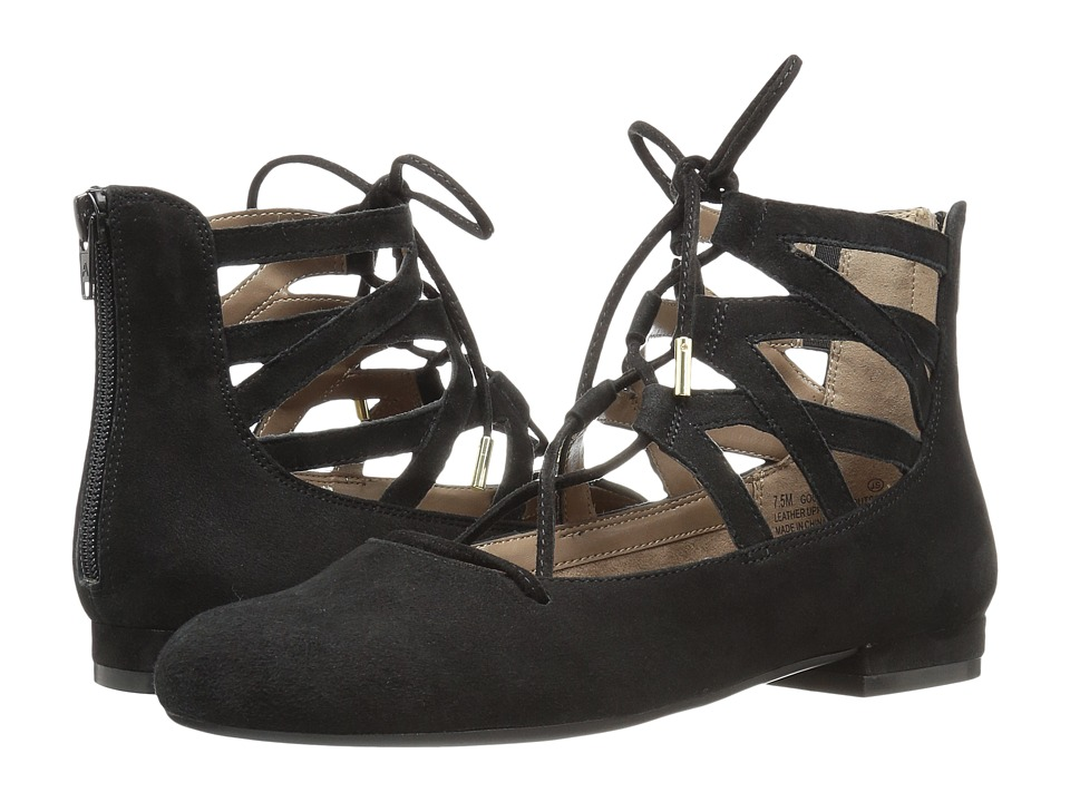 Aerosoles - Goodness (Black Suede) Women's Shoes