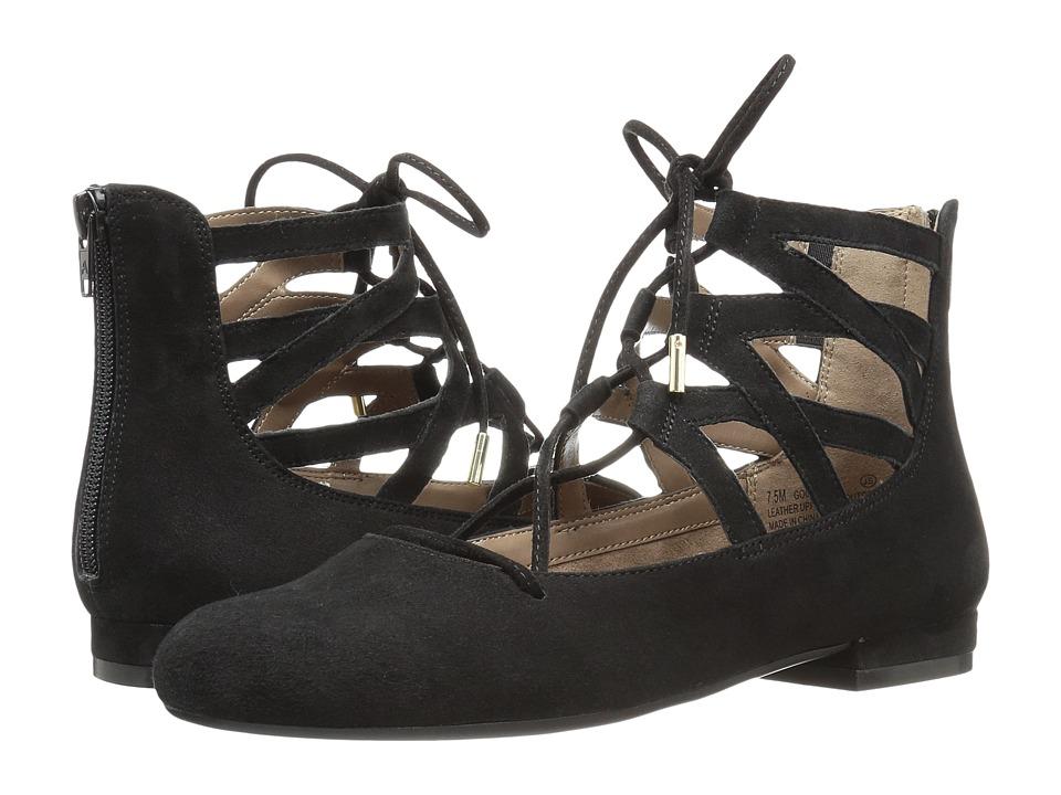 Aerosoles - Goodness (Black Suede) Women's Shoes