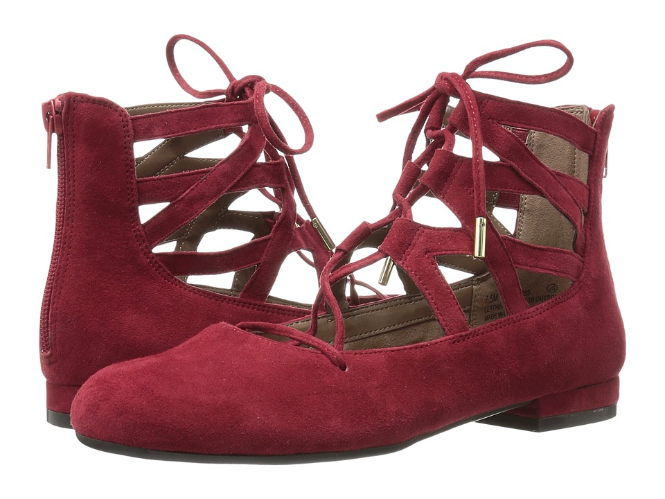 Aerosoles - Goodness (Dark Red Suede) Women's Shoes