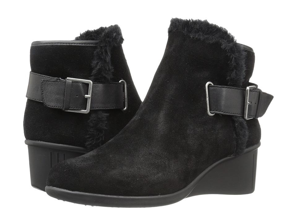 Aerosoles - Gravel (Black Suede) Women's Shoes