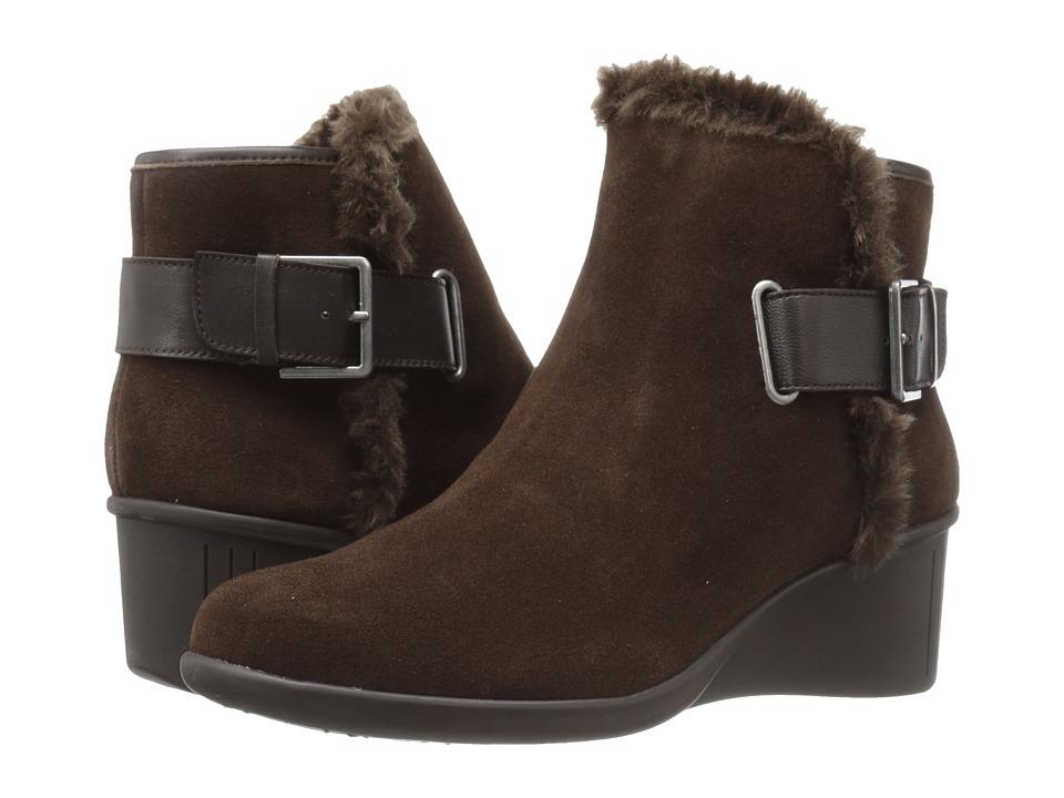 Aerosoles - Gravel (Dark Brown Suede) Women's Shoes