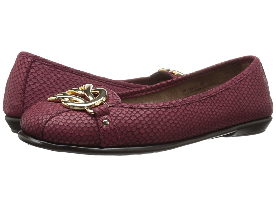 Aerosoles - High Bet (Wine Snake) Women's Shoes