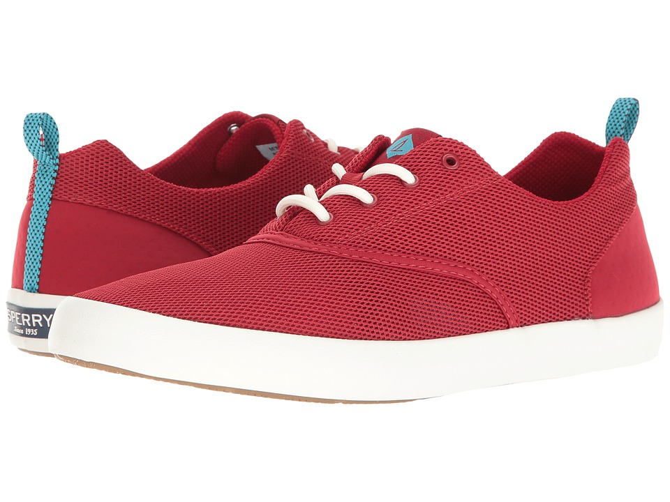 Sperry - Flex Deck CVO Mesh (Red) Men's Lace up casual Shoes