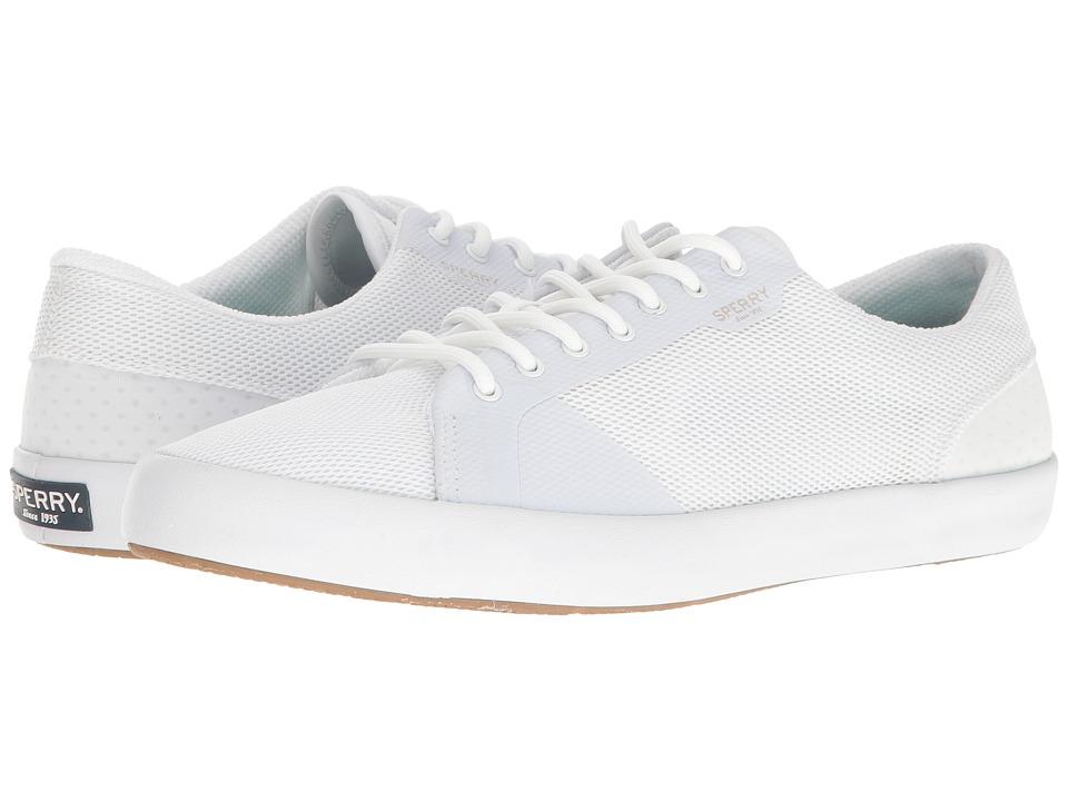 Sperry - Flex Deck LTT (White) Men's Lace up casual Shoes