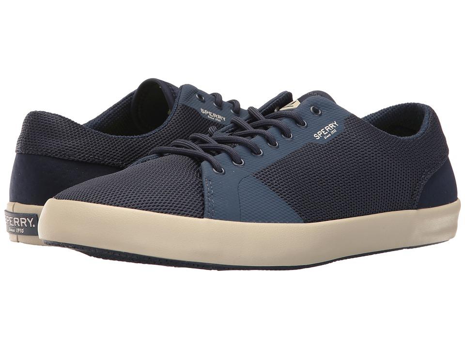 Sperry - Flex Deck LTT (Navy) Men's Lace up casual Shoes