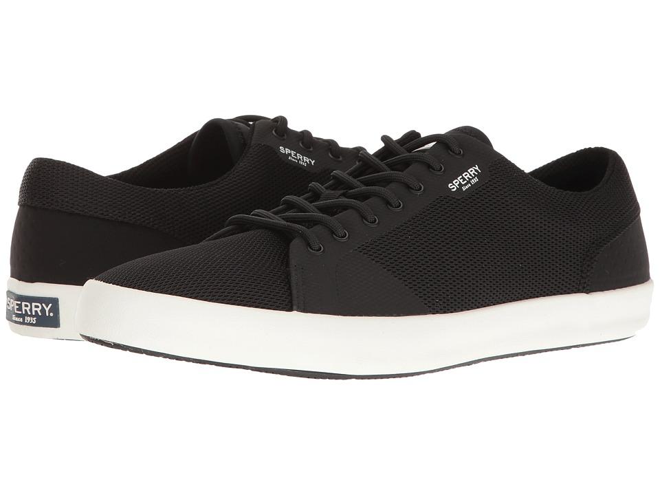 Sperry - Flex Deck LTT (Black) Men's Lace up casual Shoes