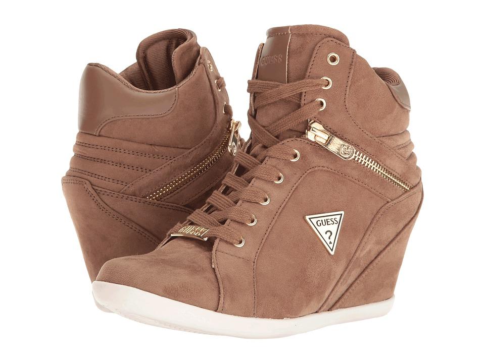 GUESS - Keala (Taupe) Women's Shoes