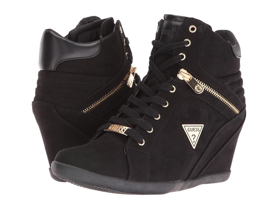GUESS - Keala (Black) Women's Shoes