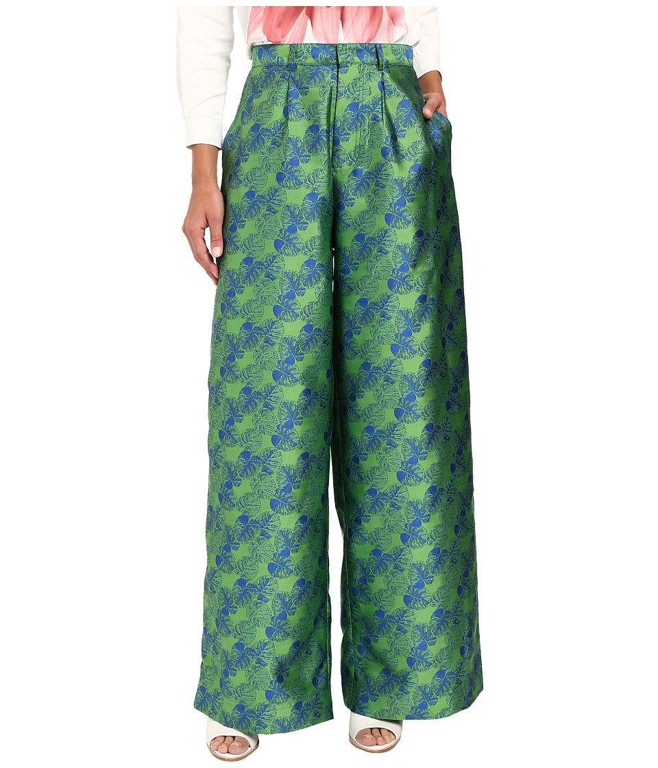 LOVE Binetti - Genesis Pants (Green Golden Era) Women's Casual Pants