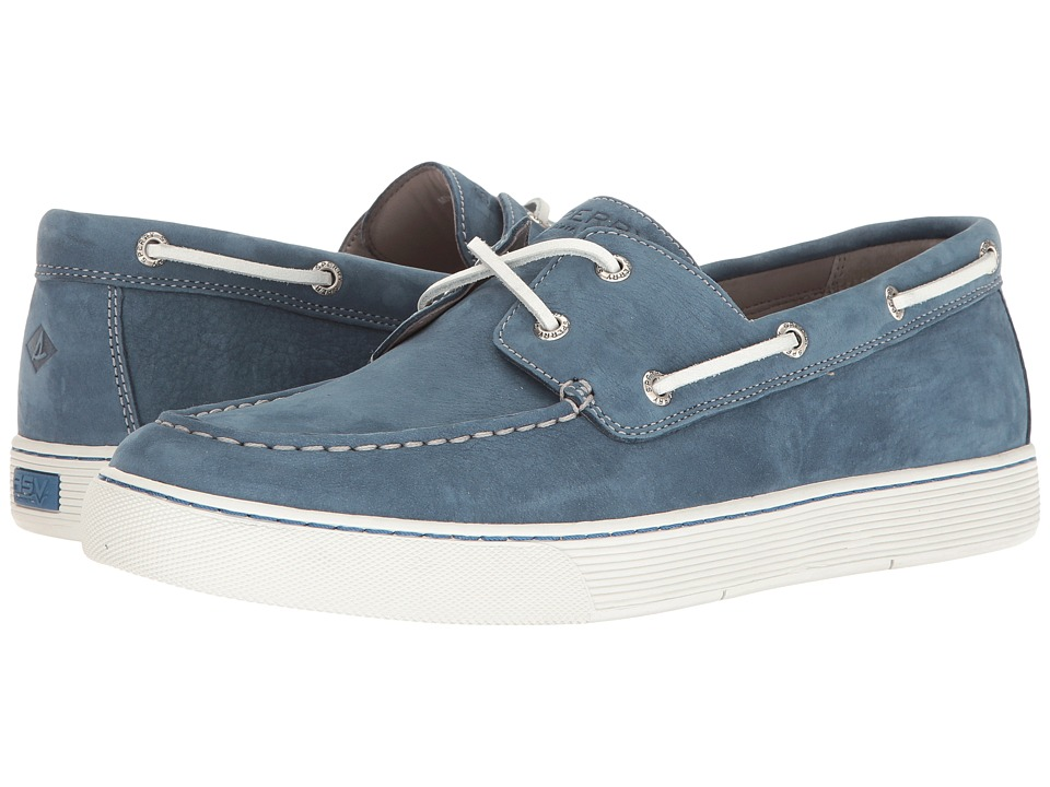 Sperry - Gold Sport Casual 2-Eye w/ ASV (Blue) Men's Lace up casual Shoes