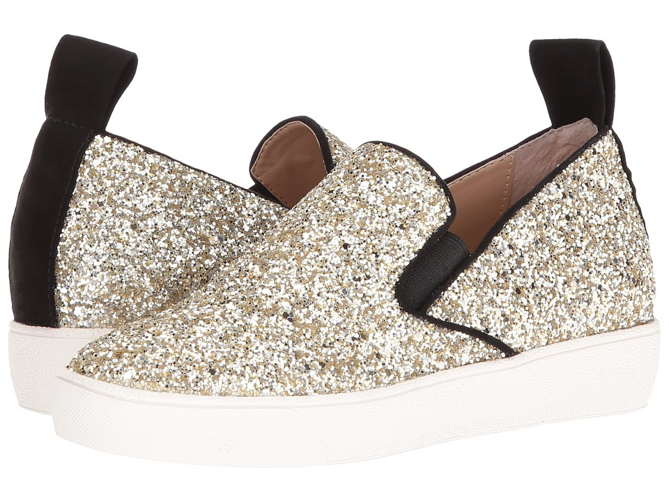 Shellys London - Henry (Gold Glitter) Women's Slip on Shoes