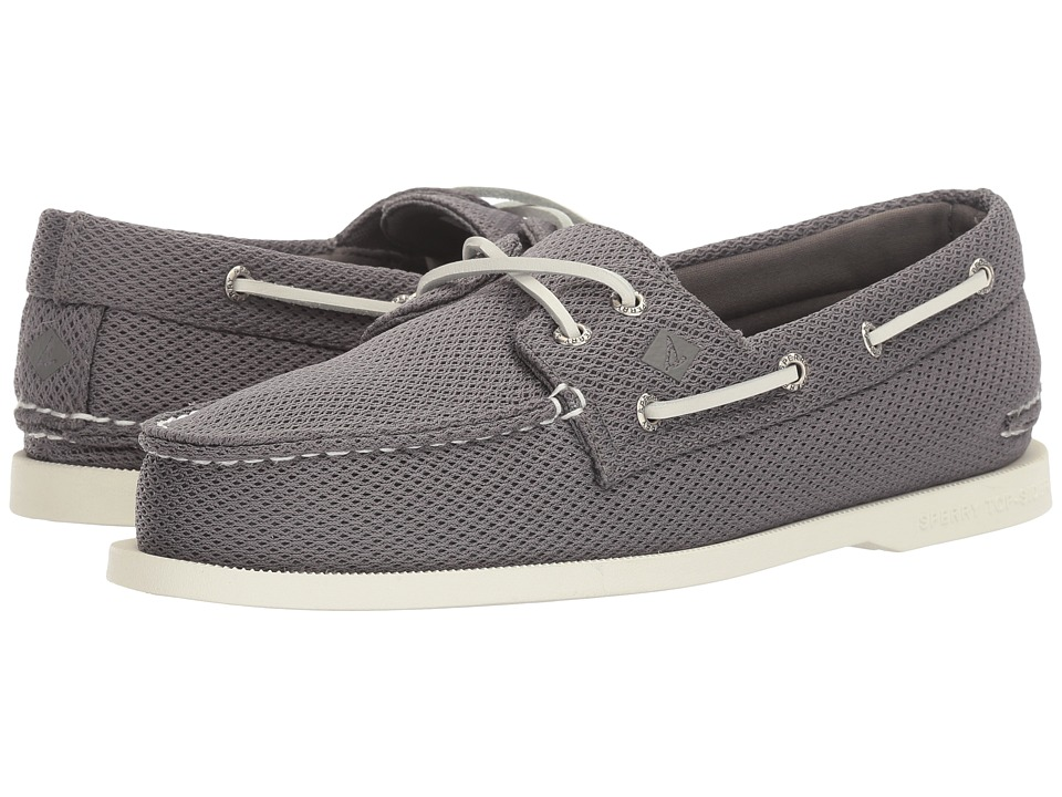 Sperry - A/O 2-Eye Mesh (Grey) Men's Shoes