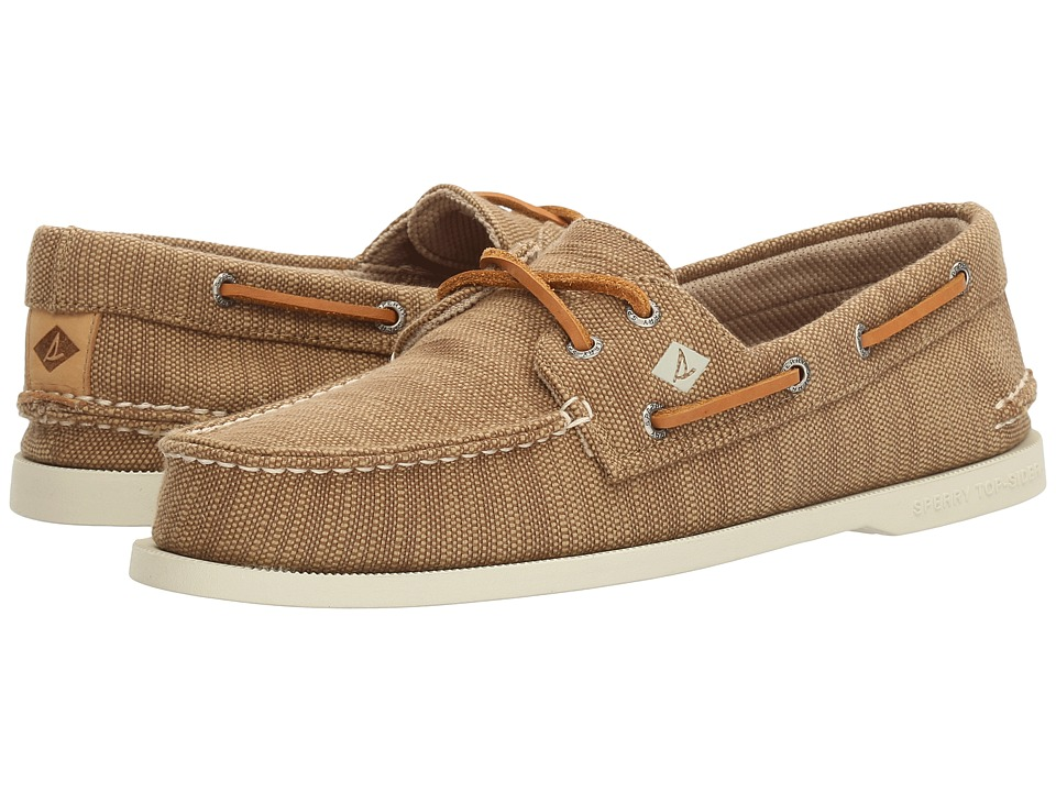 Sperry - A/O 2-Eye Baja (Chino) Men's Moccasin Shoes