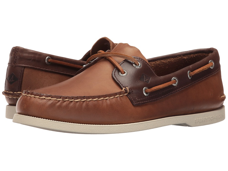 Sperry - A/O 2-Eye Sarape (Tan/Brown) Men's Lace up casual Shoes