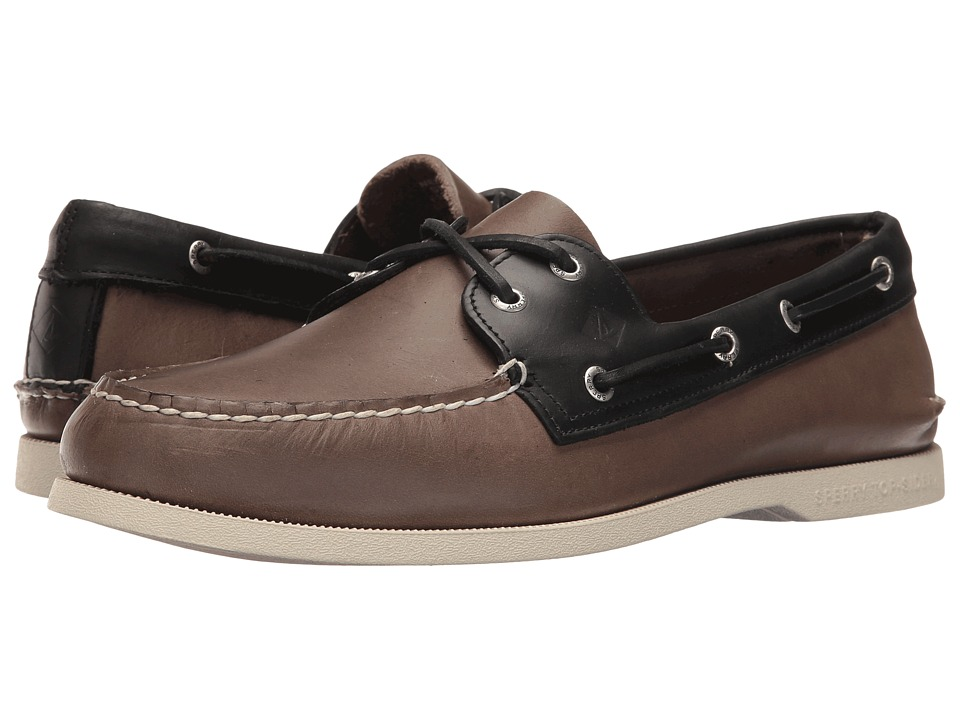 Sperry - A/O 2-Eye Sarape (Grey/Black) Men's Lace up casual Shoes