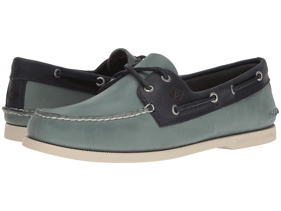 Sperry - A/O 2-Eye Sarape (Blue Surf/Navy) Men's Lace up casual Shoes