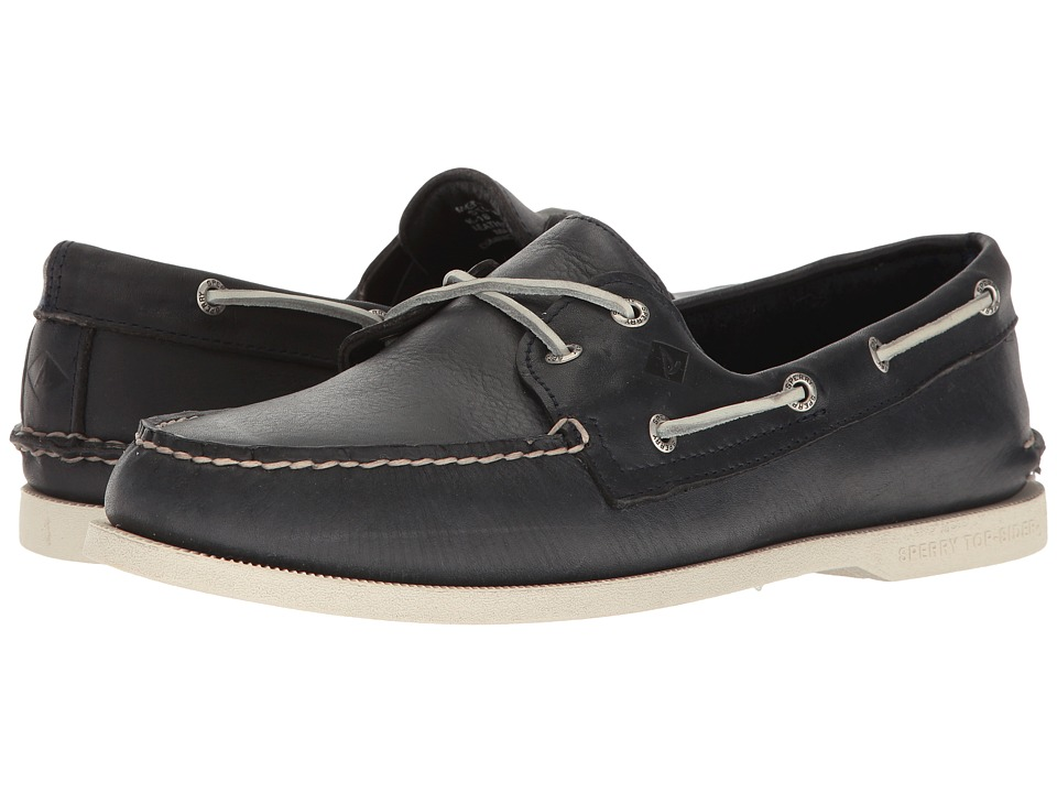 Sperry - A/O 2-Eye Cross Lace (Navy 2) Men's Lace up casual Shoes