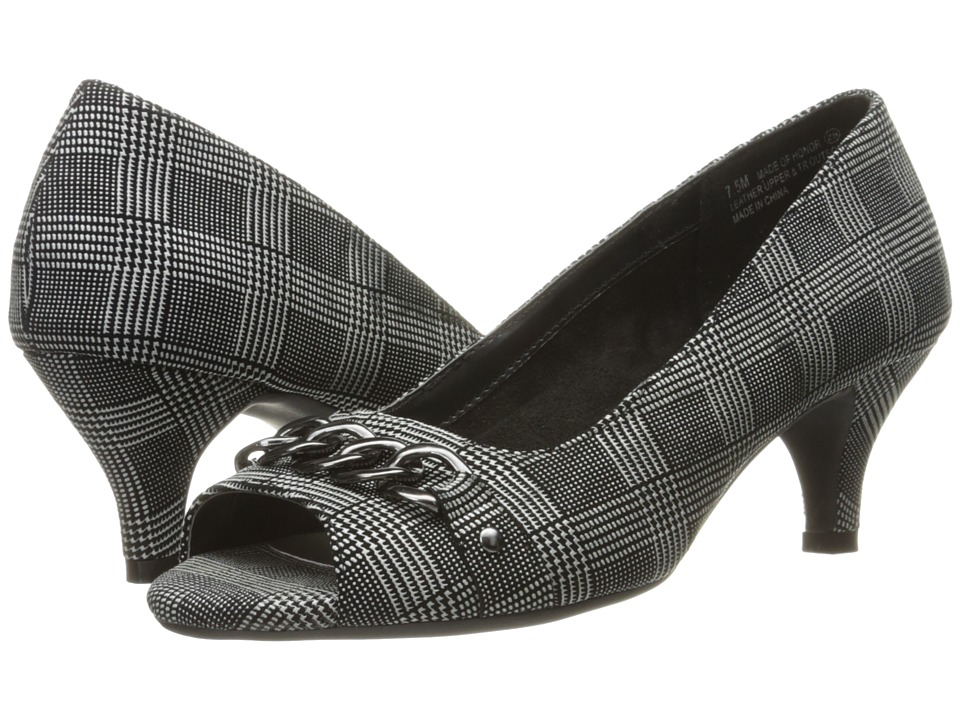 Aerosoles - Made Of Honor (Black Plaid) High Heels