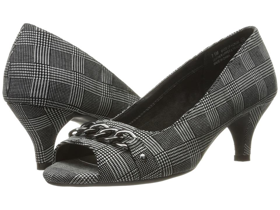 Aerosoles Made Of Honor (Black Plaid) High Heels