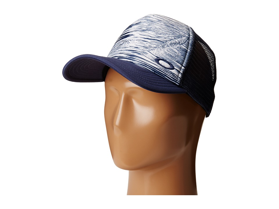 Oakley - Mesh Sublimated Trucker Hat (Blue Indigo) Caps