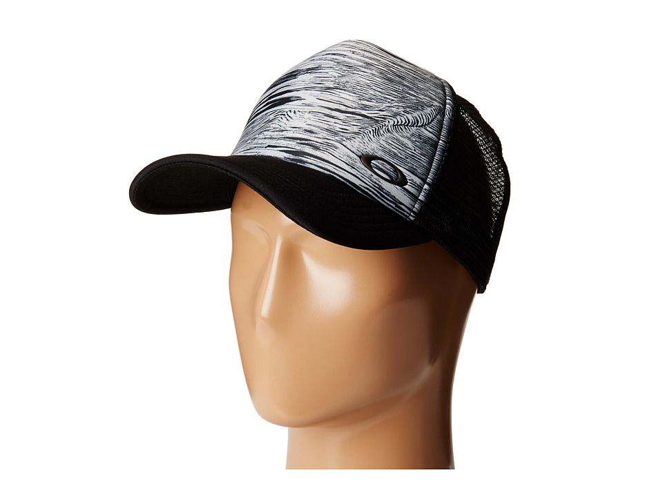 Oakley - Mesh Sublimated Trucker Hat (Blackout) Caps
