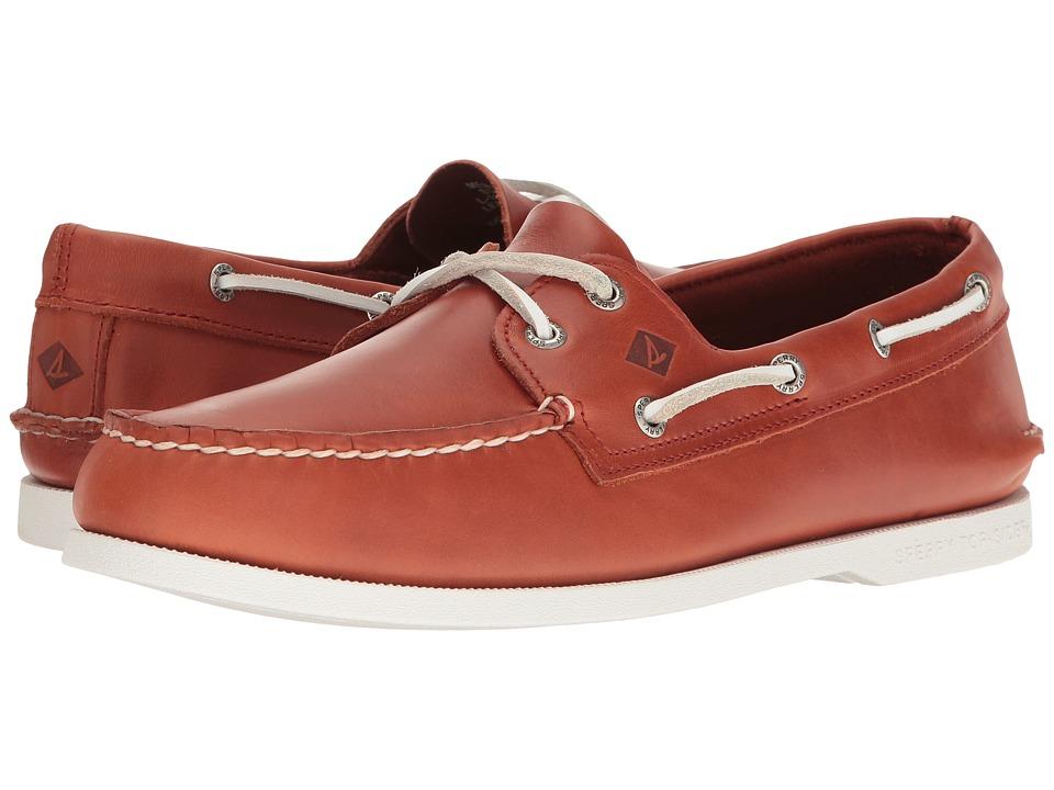 Sperry - A/O 2-Eye Island Rhythm (Orange) Men's Lace up casual Shoes