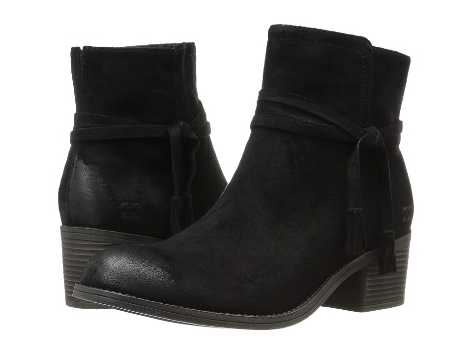 Billabong - Wrap Around (Off-Black) Women's Zip Boots