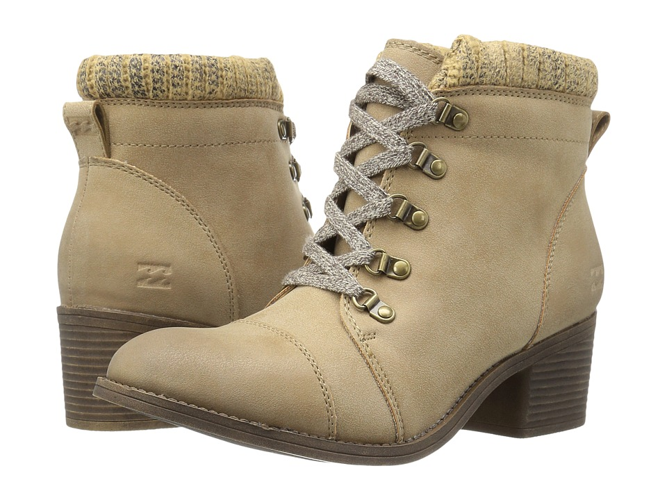 Billabong - Outer Limits (Dune) Women's Lace-up Boots