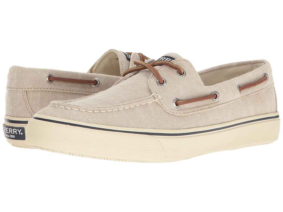 Sperry - Bahama 2-Eye Linen (Chino) Men's Lace up casual Shoes