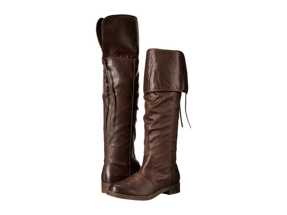 Billabong - High Tidez (Espresso) Women's Zip Boots