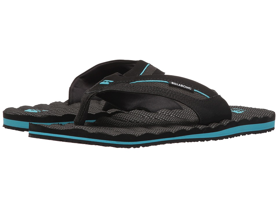 Billabong - Dunes Sandal (Black/Blue) Men's Sandals