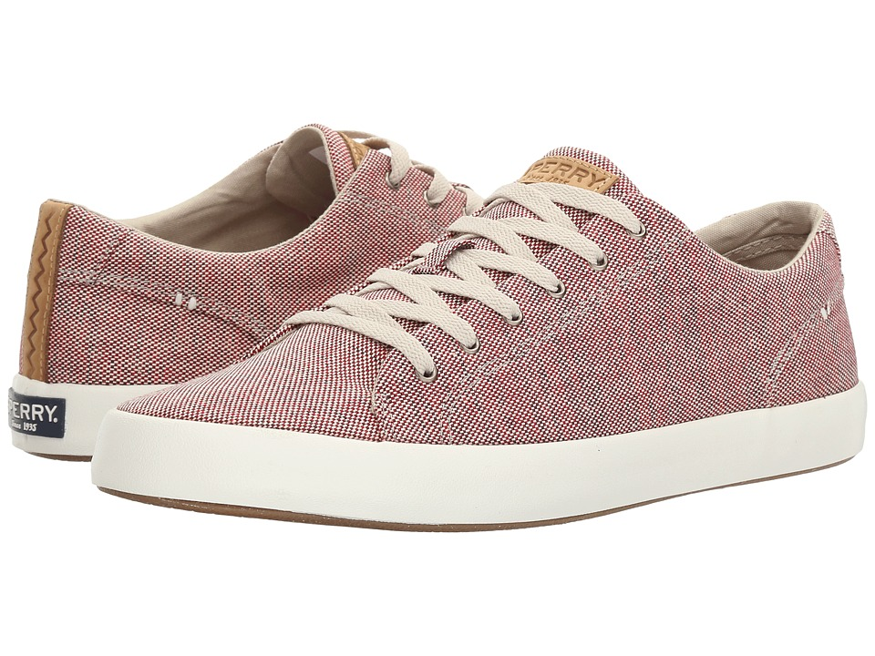Sperry - Wahoo LTT Confetti (Red) Men's Lace up casual Shoes