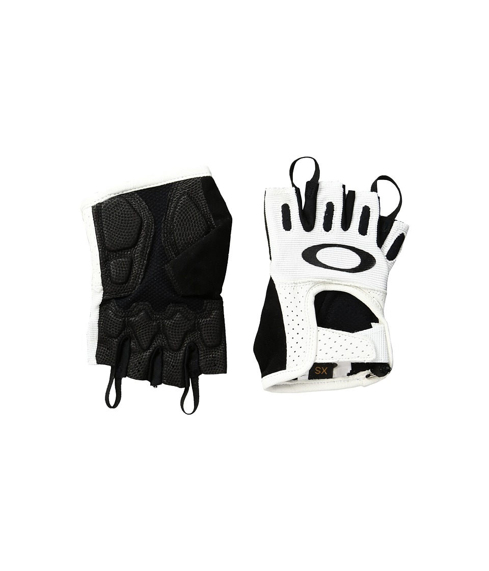 Oakley Factory Road Gloves 2.0 (White) Cycling Gloves