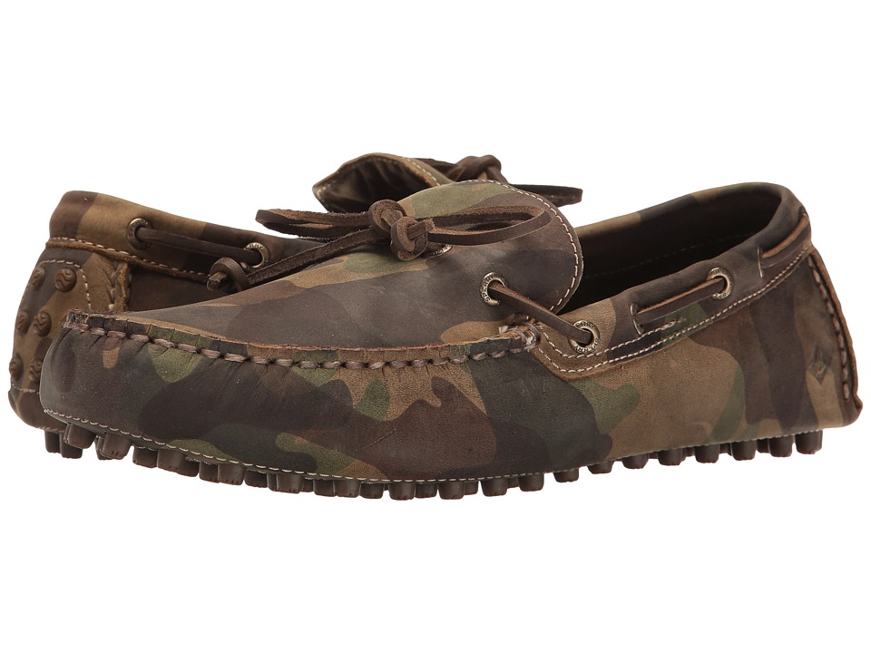 Sperry - Hamilton Driver 1-Eye (Camo) Men's Slip on Shoes