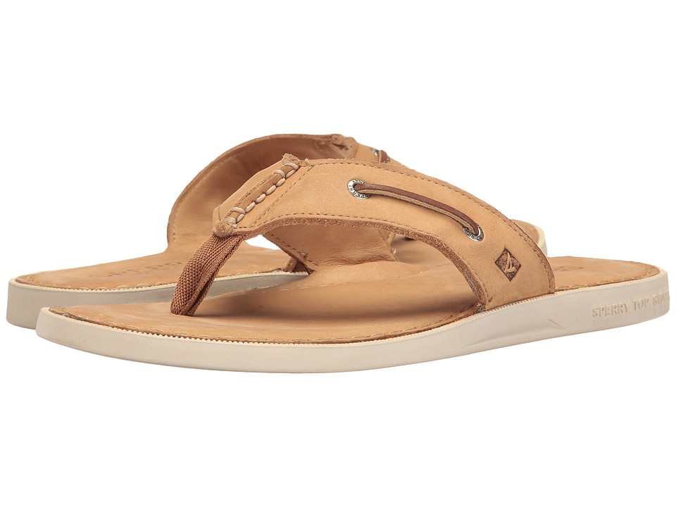 Sperry A/O Thong Sandal (Light Peanut) Men
