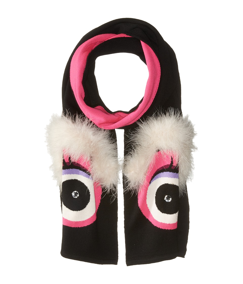 Kate Spade New York - Monster Muffler (Black) Scarves