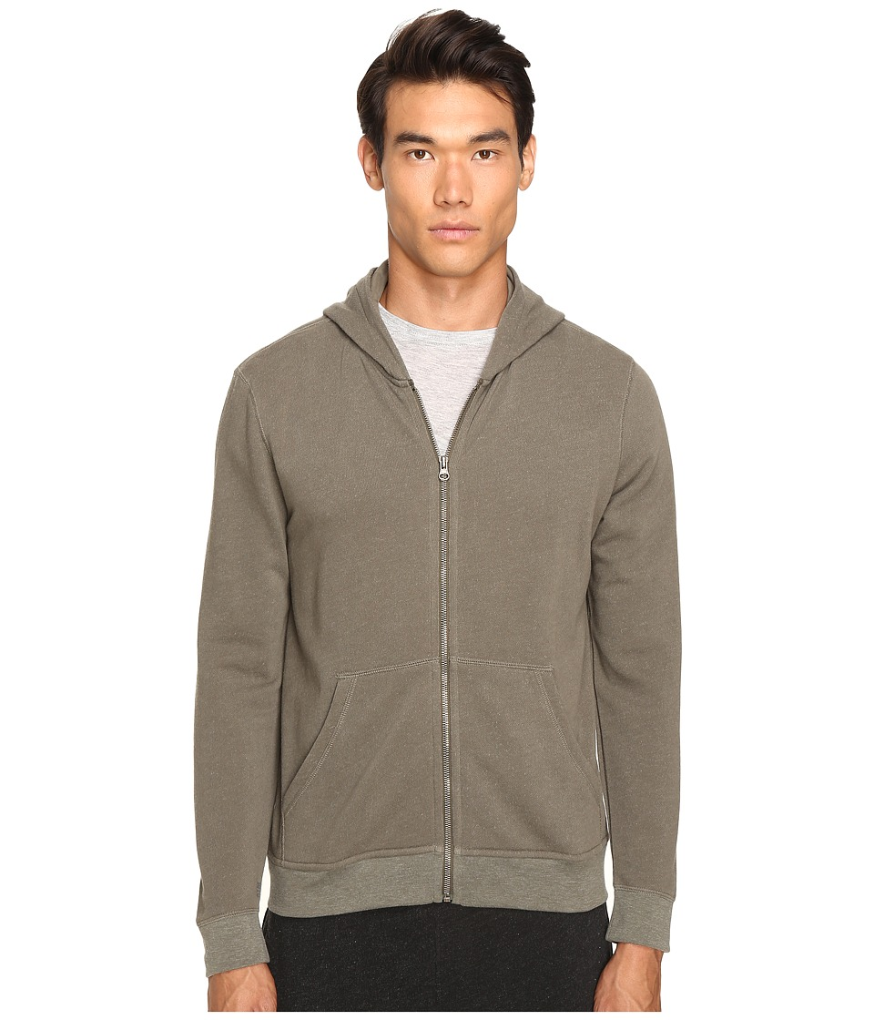 ATM Anthony Thomas Melillo - French Terry Zip Hoodie (Military) Men's Sweatshirt